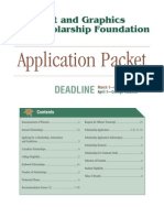 Print and Graphics Scholarship App