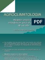 agroclimatologia- modelos empiricos