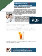 6 Consejos Para Curar El Mal Aliento