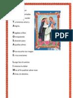Acrostico Santa Rosa de Lima
