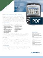 Blackberry 7250 Ent