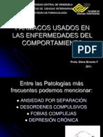 Farmacos Usados en Las Enfermedades Del Comport a Mien To