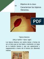 Presentación topicos literarios