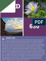edfd 630 reflection