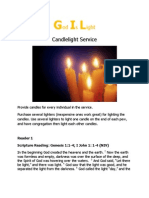 CandleLight Service (Adults)
