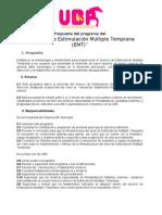 PROGRAMA DE EMT