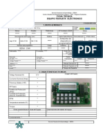 Ficha Tecnica Electro-Electronic REBOLUCION