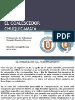 Coalescedor Chuquicamata