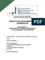 Biochemisry Report 3 by DENT