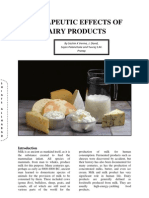 Therapeutic Effects of Dairy Products