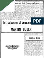 Carlos Díaz - Introducción a Buber