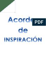 Acordes de INSPIRACIÓN