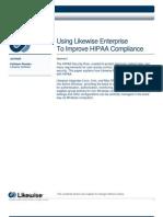 Likewise Whitepaper HIPAA Compliance