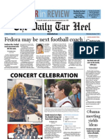 The Daily Tar Heel for December 7, 2011