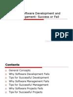 Secrets of Software Development and Project Management