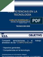 COMPETENCIAS en La Tecnologia - Septiembre 2005