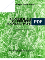 IRPS 109 Classification of the Philippine Rainfall Patterns