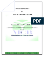 Intern Ship Report Muslim Commercial bank