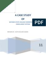 Computerized Enrollment System Case Study