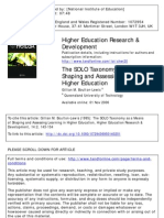 1995_SOLO_Assess Learning in Higher Edu