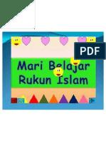Konsep Rukun Islam