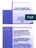 Social Cohesion & Social Exclusion in EURoldan-Garcia
