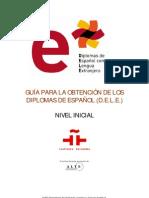 guia para la obtencion de los diplomas de español - nivel inicial