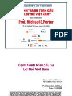 Slide.Cạnh tranh toàn cầu và Lợi thế Việt Nam - Gs. Michael E. Porter