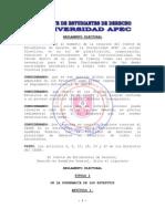 Reglamento Electoral CEDER