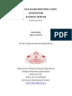 Challenge Based Identification System for Banking Server(2)