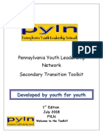 PYLN Secondary Transition Toolkit 071708mjs1-1