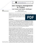 HRM in Turkey[1]