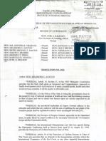 Ordinance No. 5, Province of Negros Oriental