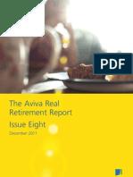 Aviva UK Real Retirement Report - Issue Eight - December 2011