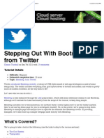 Stepping Out With Bootstrap From Twitter   Web Design Tuts+