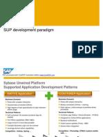 SUP Development Paradigm