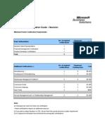 NavisionTrainingAndCertificationPlan