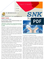 SNK Newsletter- December 2011