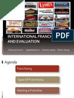 International Franchising