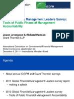 Global Financial Management Leaders Survey