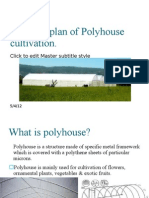 Business Plan of Polyhouse Cultivation