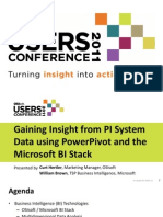 PT1920 OSIsoft Hertler Actionable Insight From PI System Data Using Microsoft BI
