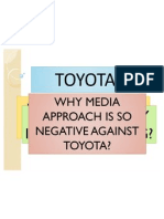 What Happened to Toyota