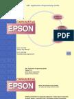 Afficheur Epson DM-D110 - Display Programming Guide
