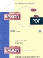 Afficheur Epson DM-D110 - Display Programming Guide