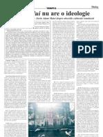 Idolii Forului Nu Are o Ideologie Un Dialog Emanuel Copilas-Sorin Adam Matei Despre Obsesiile Culturale Romanesti
