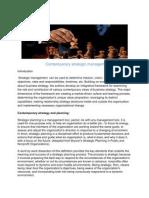 Sohel Contemporary Strategic Management (2)