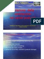 Angelo Longoni Variazione Della Ventilazione Nei Cambi Posturali