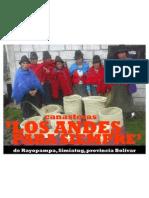 canasteras 'LOS ANDES PARA SIEMPRE'