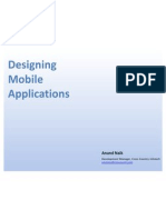 Designing Mobile Applications